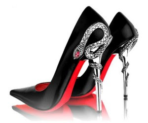 red bottom shoes why are they so hot eye catching