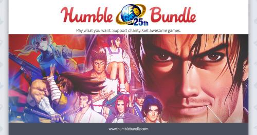 Celebra los 25 años de Neo Geo con un inesperado Humble Bundle