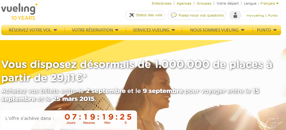 Vueling Aout
