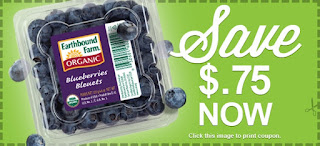 blueberries printable coupon