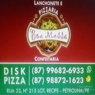 Lanchonete e Pizzaria Boa Massa