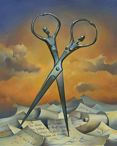 Always Together by Vladimir Kush