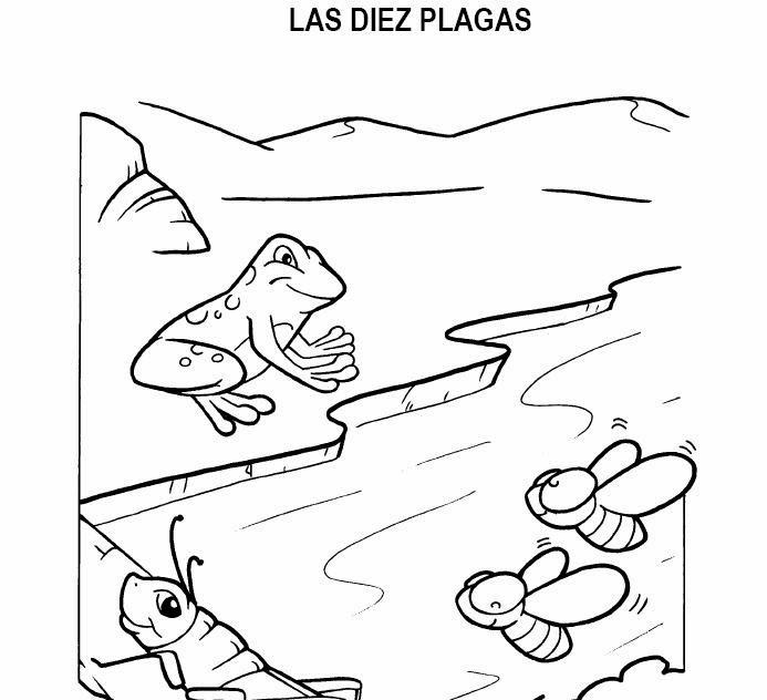 Imagenes Cristianas Para Colorear: Dibujos Para Colorear De Las Diez ...
