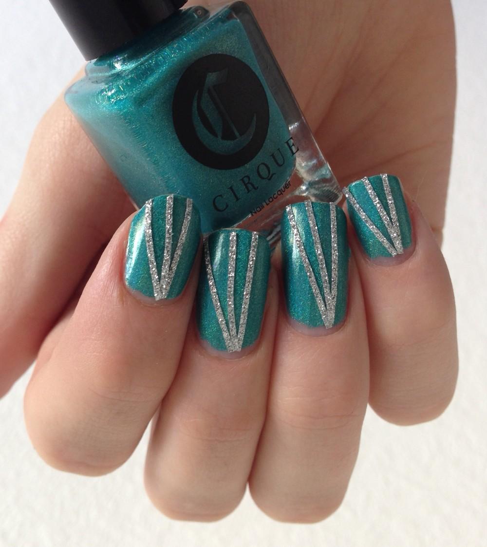 nail art cirque cerrillons