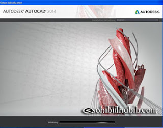 Cara Install AutoCAD 2014 Dengan Keygen/Patch