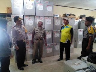 Distribusi Logistik Pilkada Kota Pekalongan Sudah Tersalurkan Ke TPS