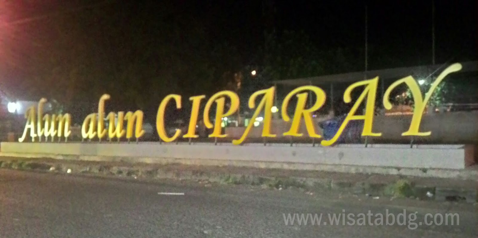 Alun-alun Ciparay Terbaru setelah direnovasi