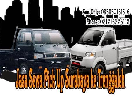 Jasa Sewa Pick Up Surabaya ke Trenggalek