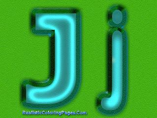 J Letters Image