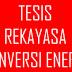Contoh Judul Tesis Teknik Mesin Konsentrasi Rekayasa Konversi Energi