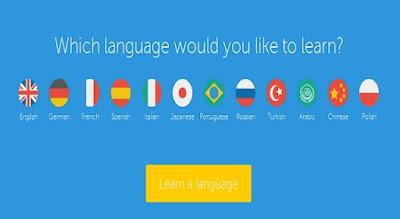 Website Tempat Belajar Bahasa Asing Gratis