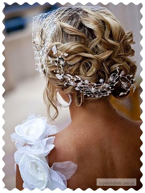 peinados 2015 novias ondas