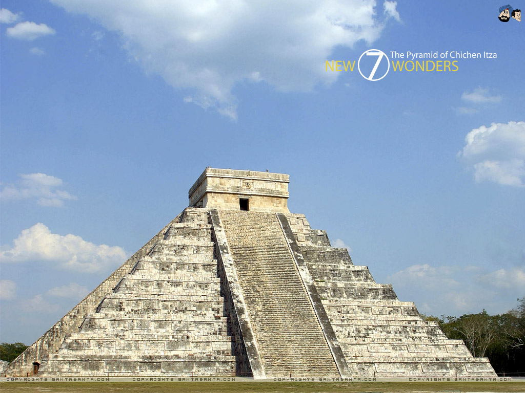 7 Wonders Of The World Windows 7 Theme (Wallpapers)