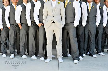 Rustic Country Wedding Ideas: The Groomsmen Attire - lets go casual