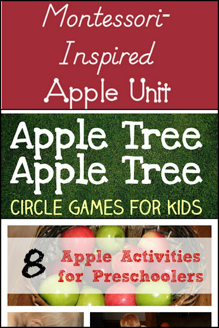 Apple learning activities for kids