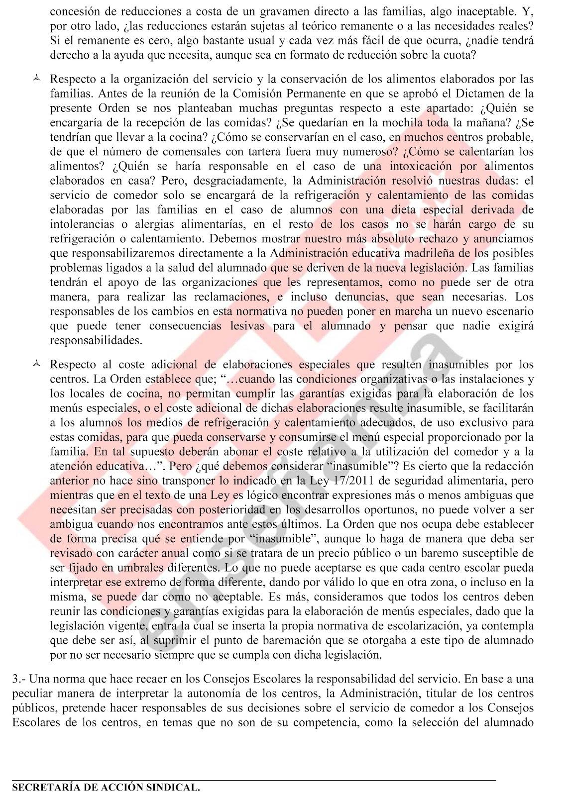 Mareaverde voto particular que ccoo junto con la fapa for Ccoo ensenanza madrid