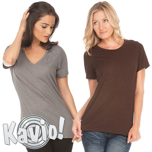 Slub T-shirts