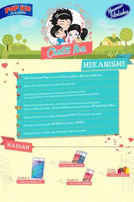 Info Kontes - Kontes Pop Ice Cinta Ibu