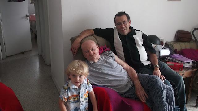 Anderson, Florencio and Lenny Campello, Hialeah, FL 2012