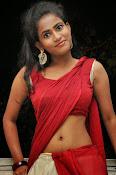 Chaithra setti sizzling in half saree-thumbnail-12