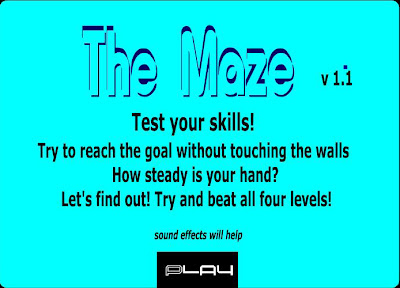 The Scary Maze Game