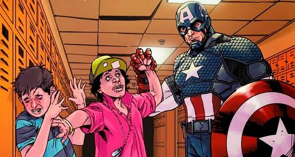 El Capitán América contra el Bullying escolar