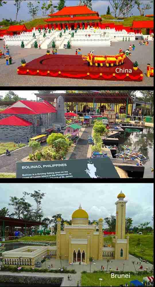 legoland Malaysia  - mini land of china