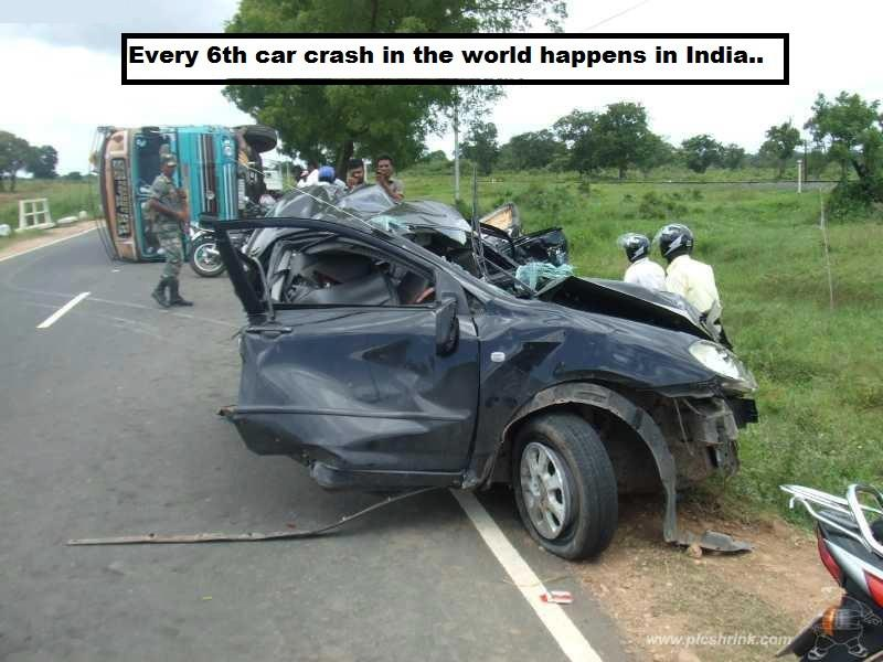 Palace Of Amazing Pictures Every 6th Car Crash In The