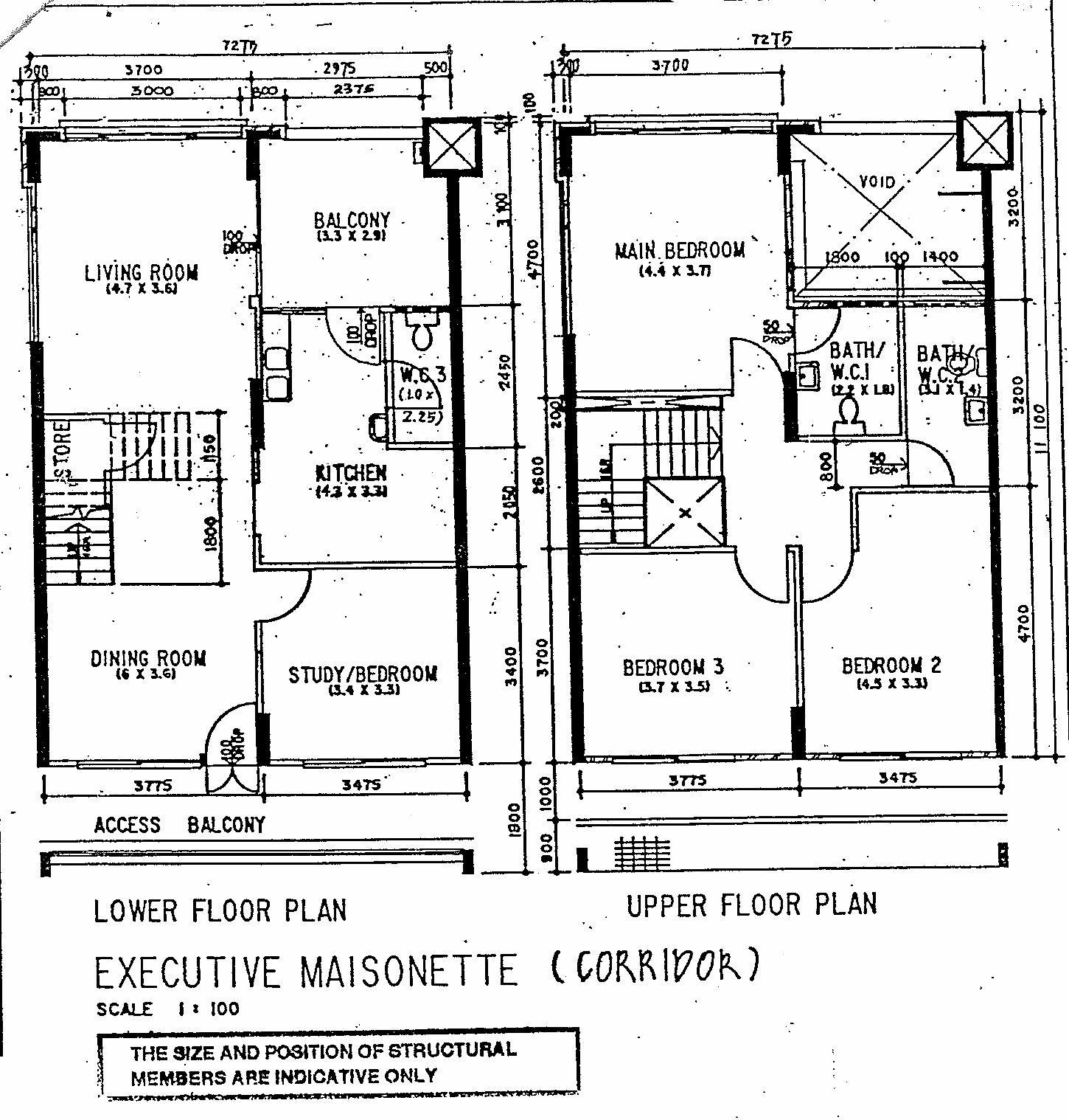Butterpaperstudio reno t maisonette original floorplan for Maisonette plans