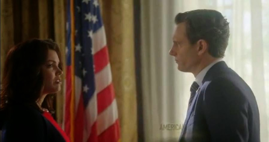 Scandal 4x14 The Lawn Chair Mellie Fitz