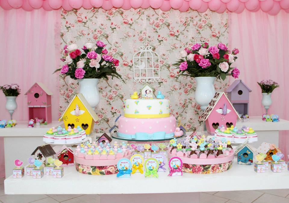 decoracao de mesa tema jardim encantado : decoracao de mesa tema jardim encantado:suas casinhas uma infinidade de ideias para voce decorar sua festa