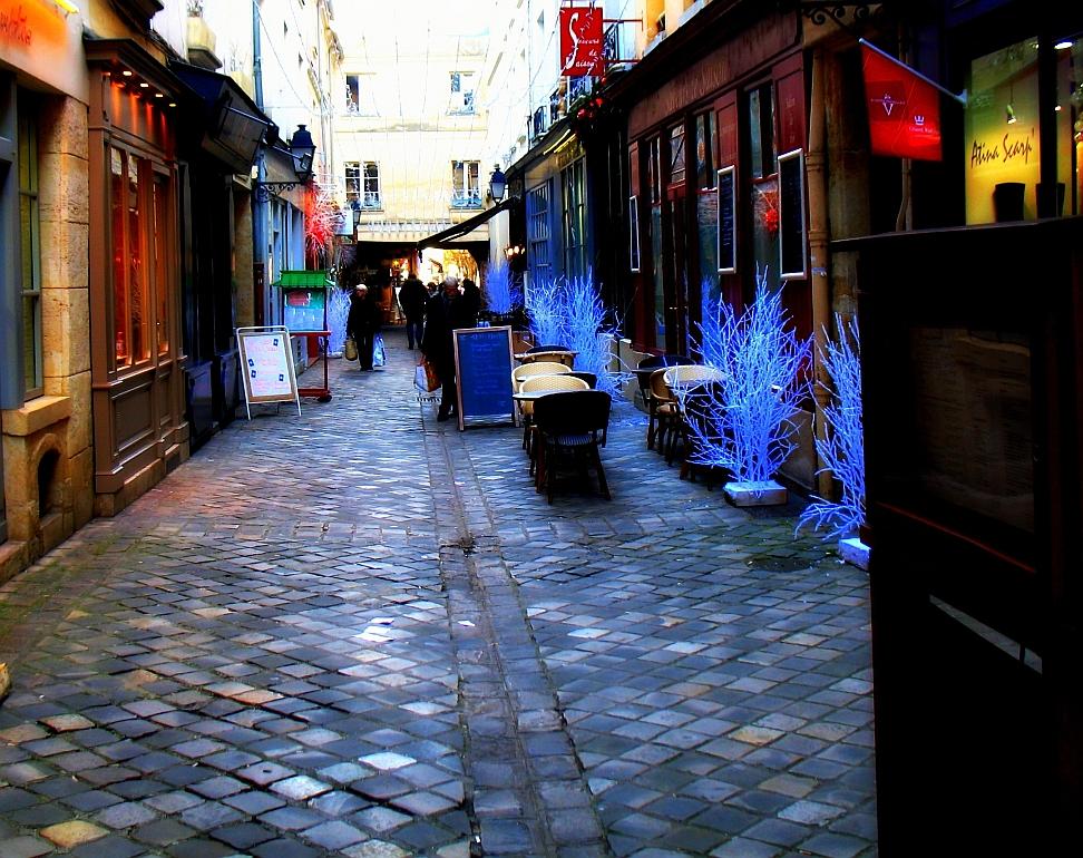 Promenade dans le quartier notre dame de la zep aux toiles - Creperie passage des deux portes versailles ...