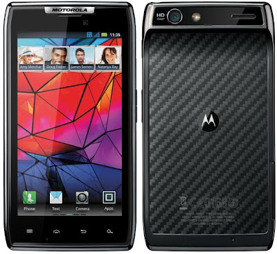 Motorola Droid RAZR: World's Thinnest Phone with Smart Specs
