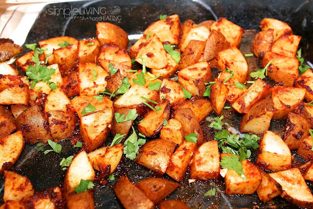Spanish Potatoes: Simple Living and Eating