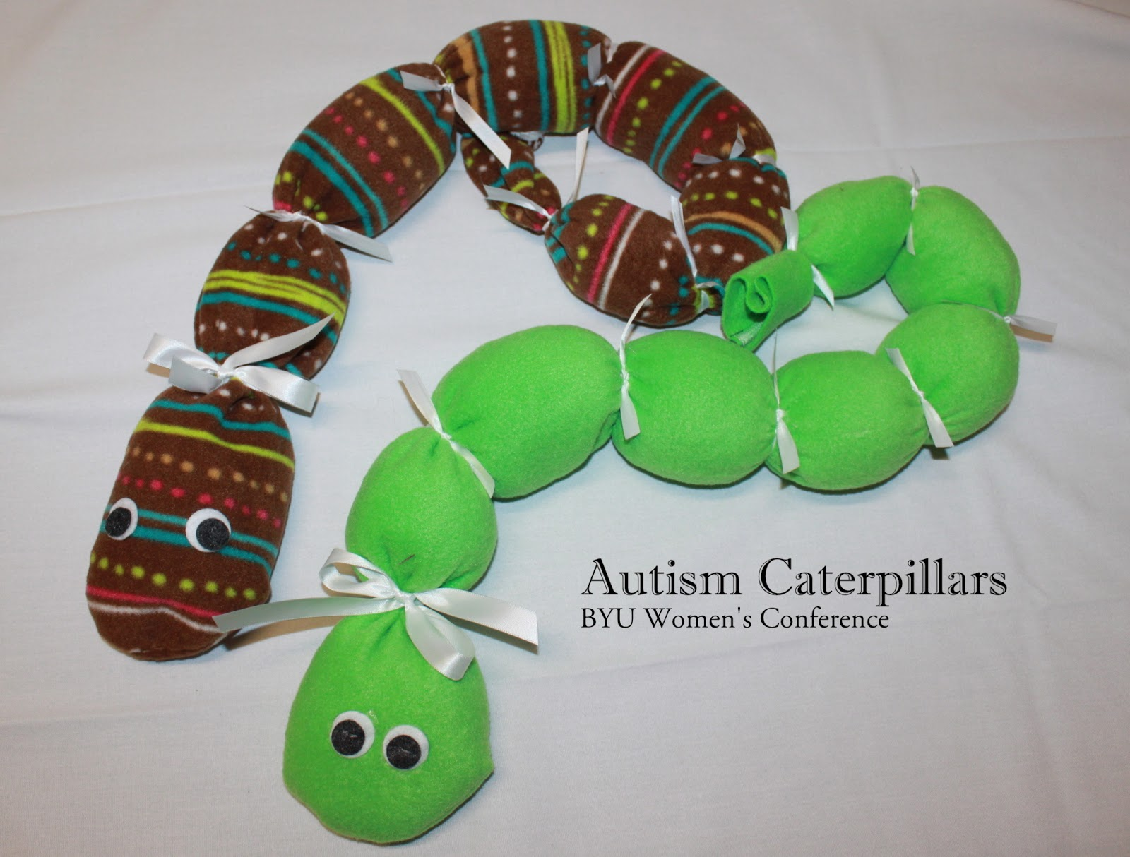 Toys For Autistic Preschoolers : Byu women s conference service ideas autism caterpillar