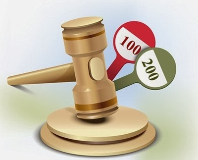 How to Illustrate an Auction Gavel Icon