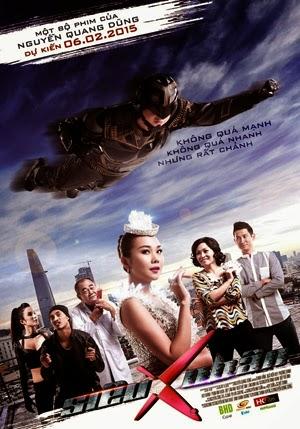 Sieu Nhan X 2015 poster