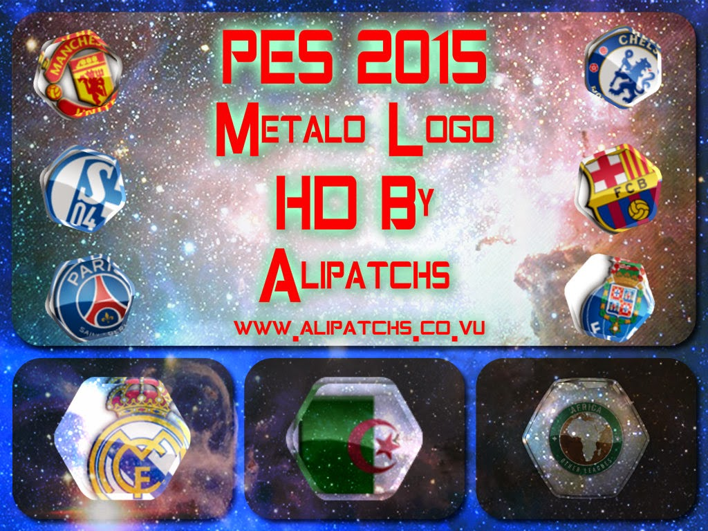 Download PES2015 Metalo Logos HD By AliPatchs