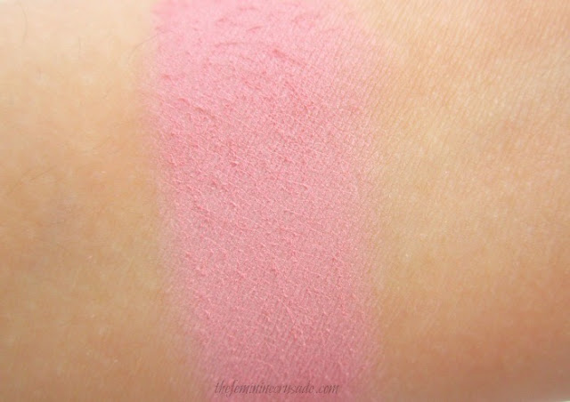 Picture of the swatch of Rouge Bunny Rouge Original Skin Blush in Gracilis