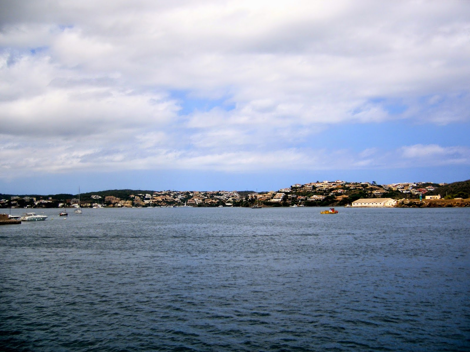 Travel Inspiration | Menorca, Spain | view of Mahon harbour from boat tour