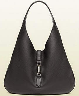 New Jackie Bag da Gucci coleção Jackie Soft black leather