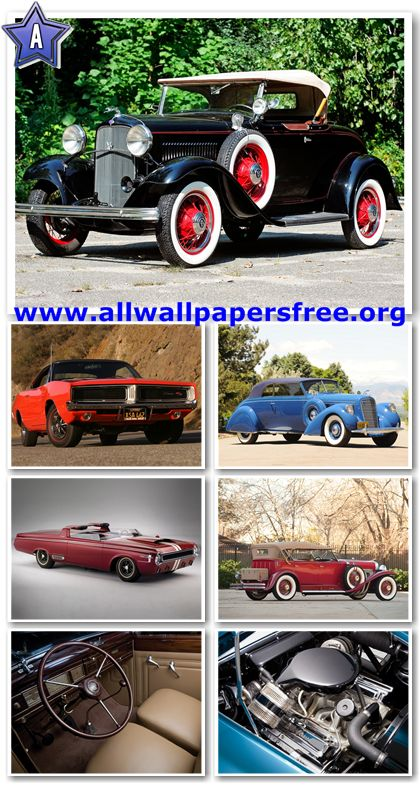 80 Amazing American Classic Cars Wallpapers 1280 X 1024 [Set 7]