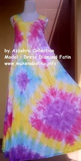 Dress Baju Pelangi