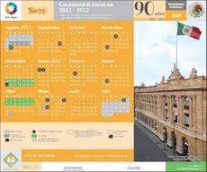 CALENDARIO ESCOLAR 2011-2012