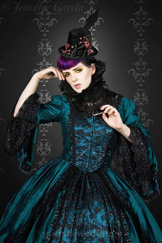 Steampunk Victorian Marie Antoinette Wedding Gowns