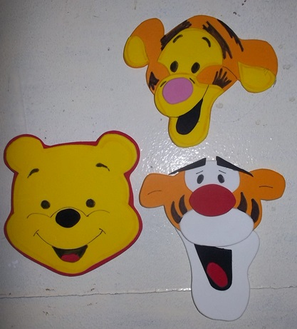 Dekokids for Cuarto winnie pooh