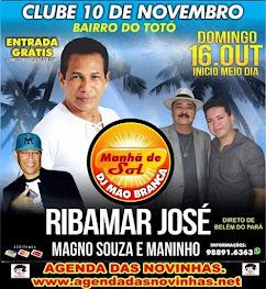 CLUBE 10 DE NOVEMBRO - RIBAMAR JOSÉ.