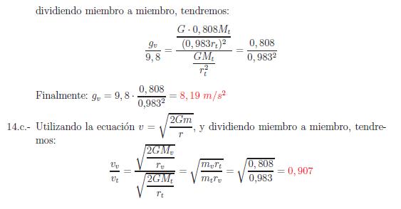 Examenes de selectividad campo gravitatorio problema resuelto 14a