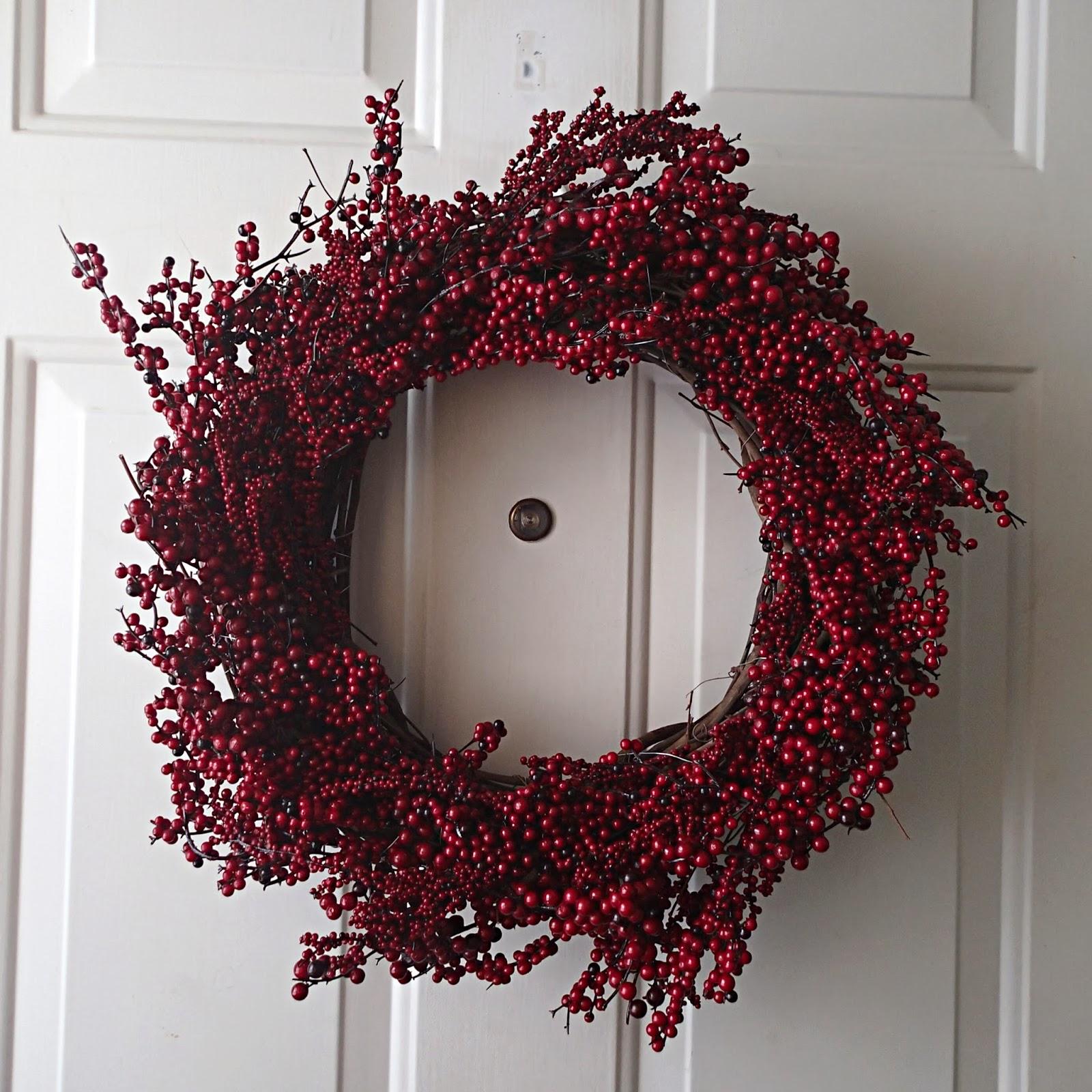 diy berry wreath - Wire Wreath Frame Hobby Lobby