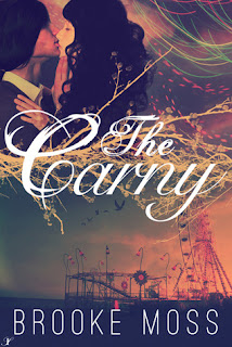 Book cover for The Carny by Brooke Moss
